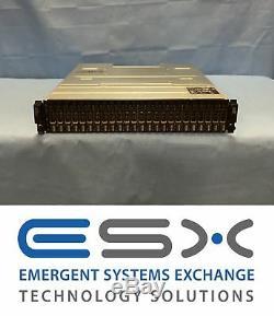 Dell PowerVault MD1220 DAS Storage Array with 24x 200GB SSD Dual EMM Dual PSU