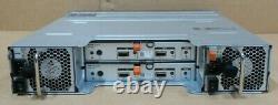 Dell PowerVault MD1220 SAS Storage Array 24x 300GB 2x MD12 Controllers + 2x PSU