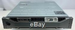 Dell PowerVault MD1220 SFF 24 Bay Storage Array with 24 x 300GB 10K 2.5 SAS HDs