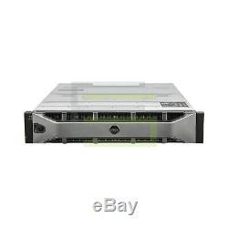 Dell PowerVault MD1220 Storage Array 24x 200GB SAS 2.5 12G SSDs