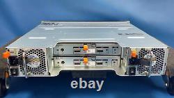 Dell PowerVault MD1220 with 24x 600GB 10k 6GB/s & 2x MD12 6GB/s SAS Controller