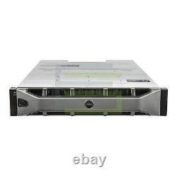 Dell PowerVault MD1400 Storage Array 12x 4TB 7.2K NL SAS 3.5 12G Hard Drives