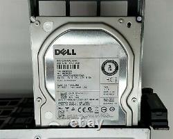 Dell PowerVault MD1400 Storage Array 212G-SAS-4 Controller 123TB SAS 2600W PS