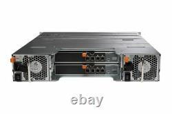 Dell PowerVault MD1400 Storage Array 6x 600GB 15K SAS HDD 2x 12G-SAS-4 2x PSU