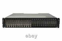 Dell PowerVault MD1420 Storage Array 12x 3.84TB SAS 12G SSD 2x 12G-SAS-4 2x PSU