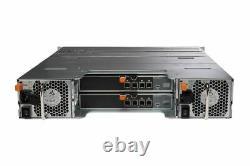 Dell PowerVault MD1420 Storage Array 24x 1TB 7.2k SAS HDD 2x 12G-SAS-4 2x PSU