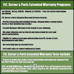 Dell PowerVault MD3000 Storage Array 2x Single Port SAS Controllers M999D 2x PSU