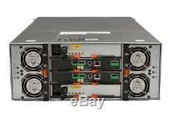 Dell PowerVault MD3060e 60 x 4TB SAS, Dell Enterprise Class Hard Drives, Rails