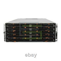 Dell PowerVault MD3060e Storage Array 60x 14TB 7.2K NL SAS 3.5 6G Hard Drives