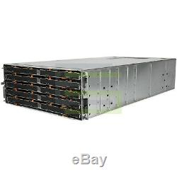 Dell PowerVault MD3060e Storage Array 60x 200GB SAS 2.5 12G SSDs