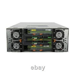Dell PowerVault MD3060e Storage Array 60x 400GB SAS 2.5 12G SSDs