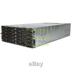 Dell PowerVault MD3060e Storage Array 60x 480GB SAS 2.5 12G SSDs