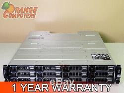 Dell PowerVault MD3200 6Gbps DAS Dual EMM 12x 4TB SAS Storage Array