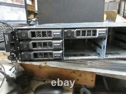 Dell PowerVault MD3200 SAN 12-Bay Storage Array 2x N98MP 2x PSU 4x 1TB SAS HDD