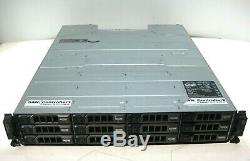 Dell PowerVault MD3200 SAS Storage Array with Dual SAS Controller 0N98MP 36TB