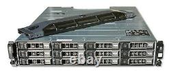 Dell PowerVault MD3200i 12x 3.5 iSCSI Storage Array Dual PSU, Dual Controller
