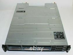 Dell PowerVault MD3200i Storage Array Chassis Missing Hard Drive Caddy's No HD