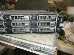Dell PowerVault MD3200i iSCSI Storage 72TB 5450GB SAS 2770D8 Controller 2PSU