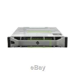 Dell PowerVault MD3220 Storage Array 24x 300GB 15K SAS 2.5 6G Hard Drives