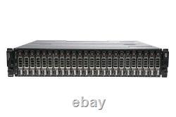 Dell PowerVault MD3220i 24 x 2.4TB 10k 512e SAS