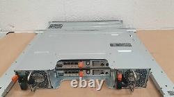 Dell PowerVault MD3220i 2U 14.4TB (24x 600GB 15K SAS) iSCSI SAN Storage Array