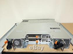 Dell PowerVault MD3220i 2U Gigabit iSCSI 6G SAS SAN Storage Array 24x 2.5'' SFF
