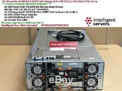 Dell PowerVault MD3260 240TB SAS Storage (60x 4TB SAS) 2x SAS Ctrl 2x PSU Array
