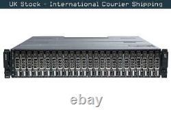 Dell PowerVault MD3420 24 x 600GB 10K SAS