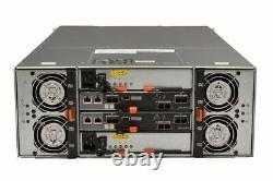Dell PowerVault MD3460 20x 10TB 7.2K SAS HDD 2x 12G SAS Controllers 2x 1755W PSU