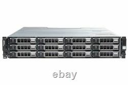 Dell PowerVault MD3600f 12 x 6TB 7.2K 2 x Controller Fibre Channel Storage Array