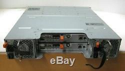 Dell PowerVault MD3600f Storage Array 2x FC Controller 0CG87V 12x 2TB HDD 2x PSU