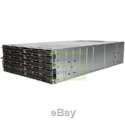 Dell PowerVault MD3660f Storage Array 60x 1.6TB SAS 2.5 12G SSDs