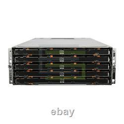 Dell PowerVault MD3660f Storage Array 60x 200GB SAS 2.5 12G SSDs