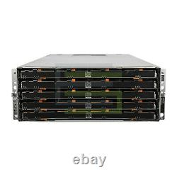 Dell PowerVault MD3660f Storage Array 60x 3.84TB SAS 2.5 12G SSDs