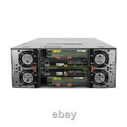 Dell PowerVault MD3660f Storage Array 60x 480GB SAS 2.5 12G SSDs