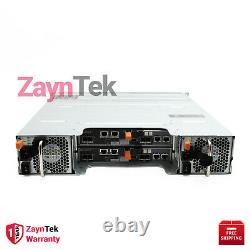 Dell PowerVault MD3820i 24-Bay 2.5 1.8TB 10K SAS Hard Drive Storage Array