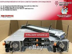 Dell PowerVault MD3820i 46TB RI SAS SSD 2x 10GB iSCSi Ctrl SAN Storage Array