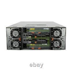 Dell PowerVault MD3860f Storage Array 60x 10TB 7.2K NL SAS 3.5 12G Hard Drives
