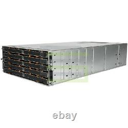 Dell PowerVault MD3860f Storage Array 60x 4TB 7.2K NL SAS 3.5 12G Hard Drives