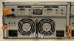 Dell PowerVault +MD Model AMP01/MD3000 15 Bay SAS/SATA Storage Array (5C5.71. JK)