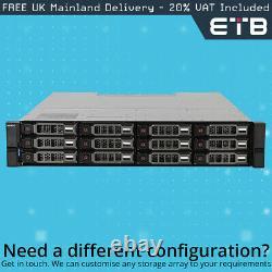 Dell PowerVault ME4012 16GFC/10G 12 x 4TB 7.2k SAS Dell Hard Drives, Rails