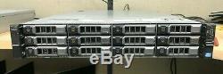 Dell PowerVault NX3200 Storage Array E5-2630 32GB RAM PERC H710 mini 12+2 trays