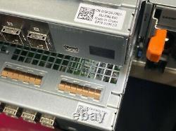 Dell Powervault Md1400 48tb (12 X 4tb) 7.2k Sas Storage Array Dual Control & Psu