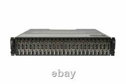 NEW Dell PowerVault MD1420 Storage Array 24x 2.4TB 10K HDD 2x 12G-SAS-4 2x PSU