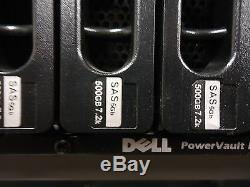 POWER VAULT MD3000, Dell, Dell PowerVault MD3000 Storage Array, USED