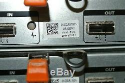 Qty 7 Dell PowerVault MD1200 Raid Controller Storage Array E03J no HDD